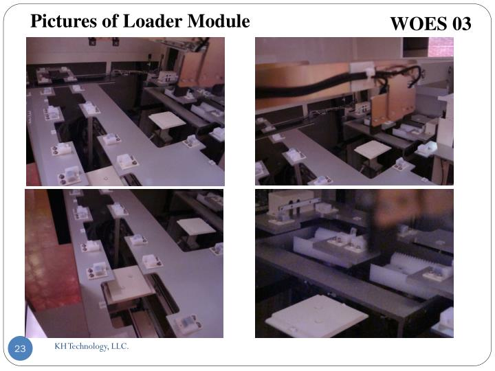 Pictures of Loader Module