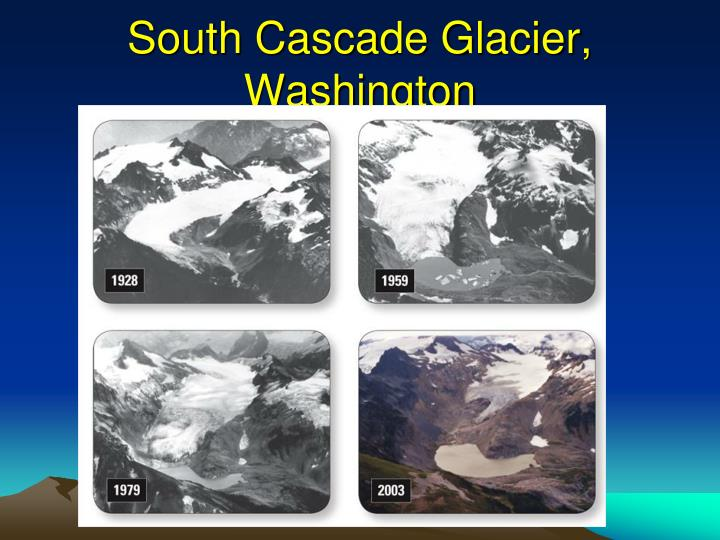 South Cascade Glacier, Washington