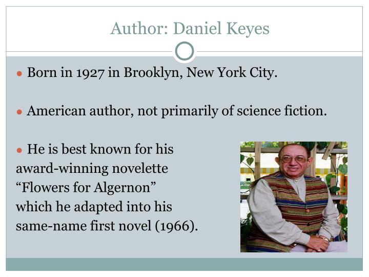 Author: Daniel Keyes