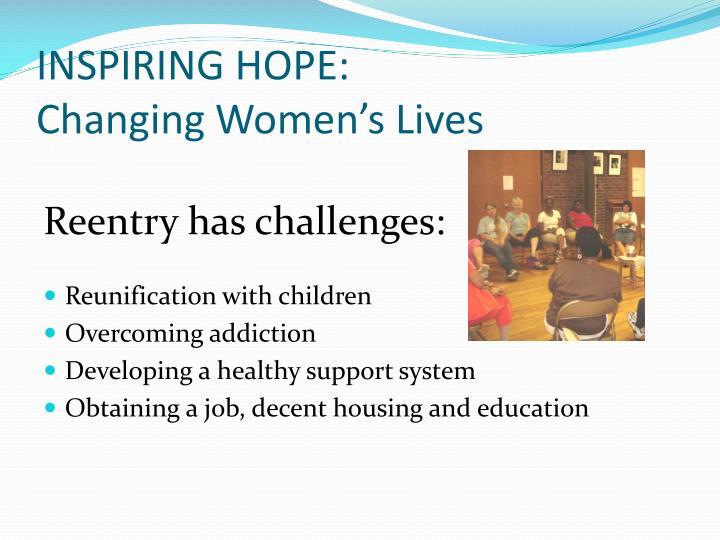 INSPIRING HOPE: