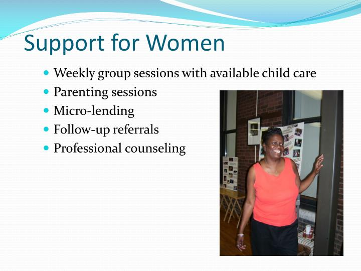 Support for Women