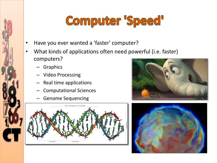 Computer 'Speed'