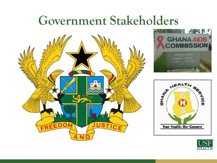 Government Stakeholders