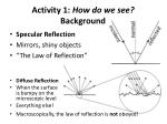 activity 1 how do we see background