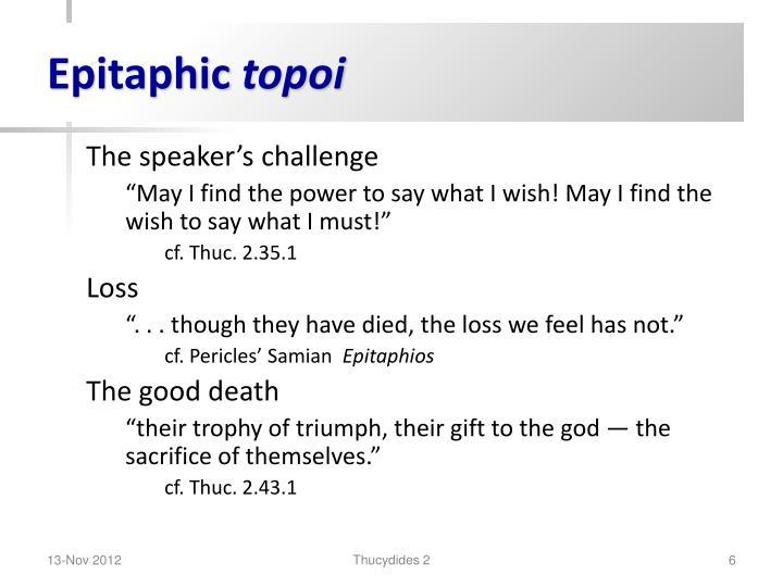 Epitaphic