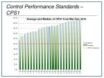 control performance standards cps1