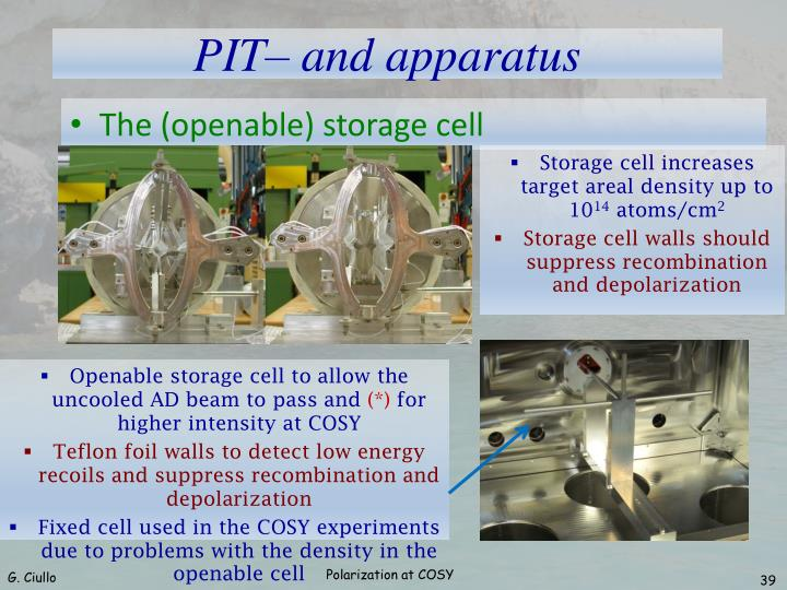 The (openable) storage cell