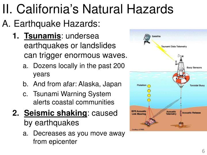 California's Natural Hazards