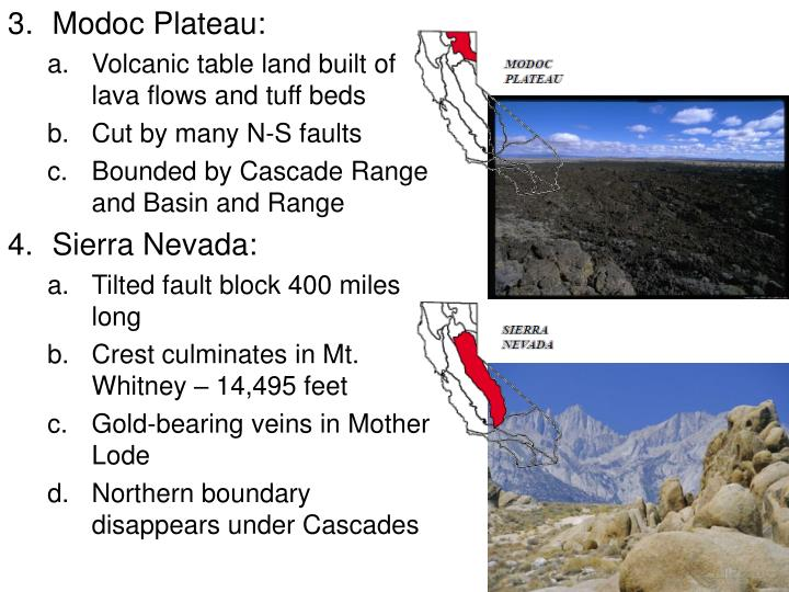 Modoc Plateau: