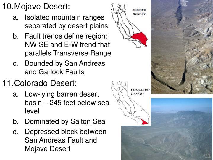 Mojave Desert: