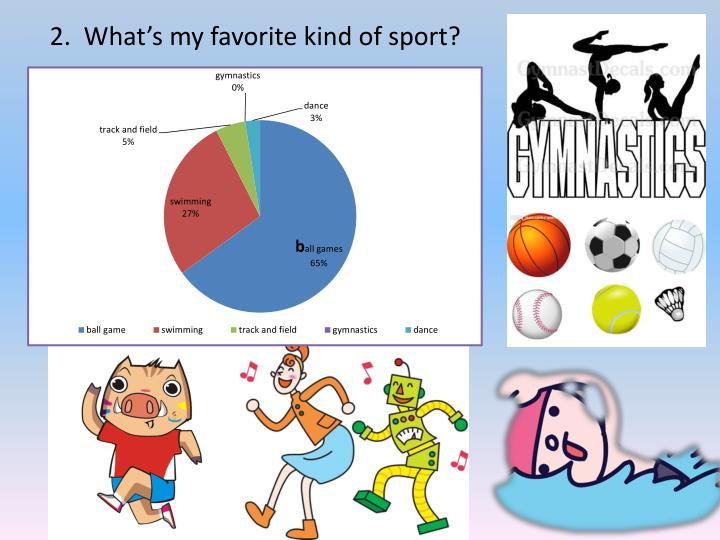2.  What's my favorite kind of sport?