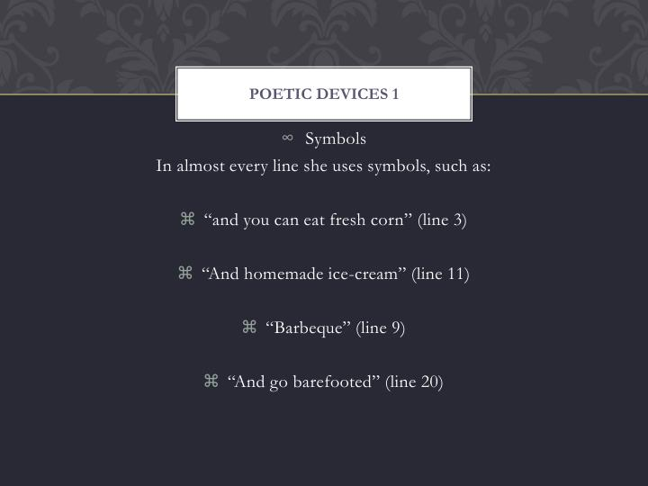 Poetic devices 1