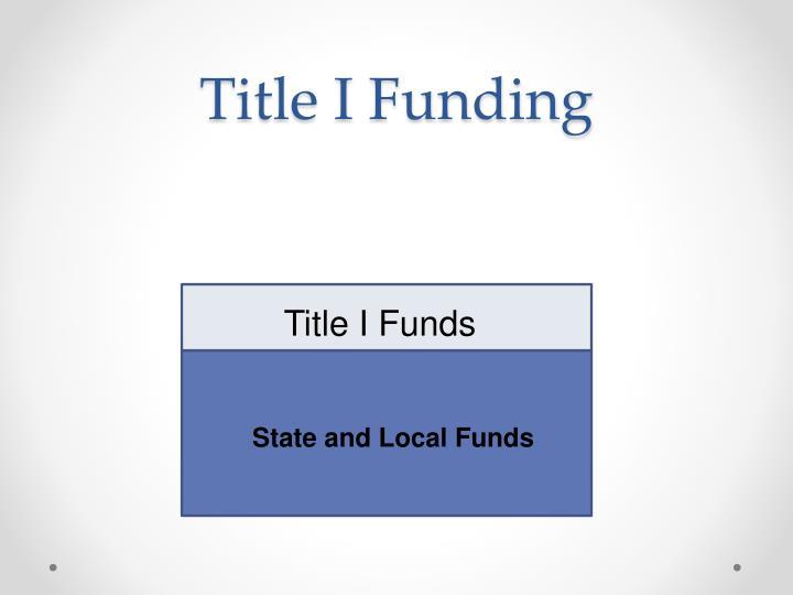 Title I Funding