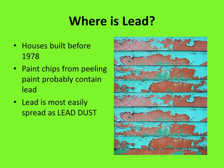 Where is Lead?