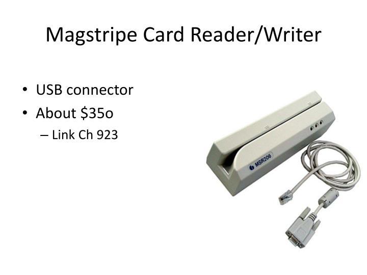 Magstripe Card Reader/Writer