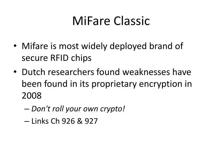 MiFare Classic