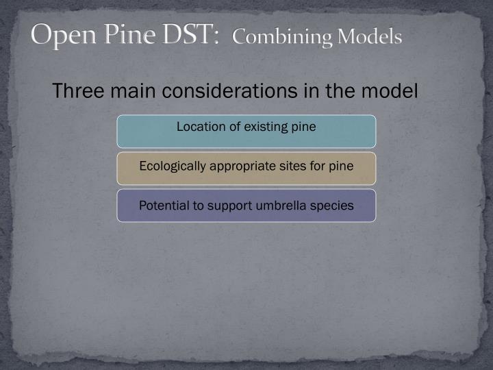Open Pine