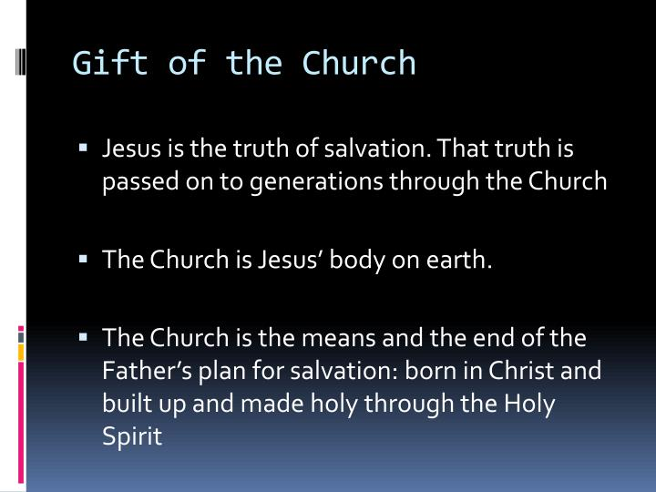 Gift of the Church