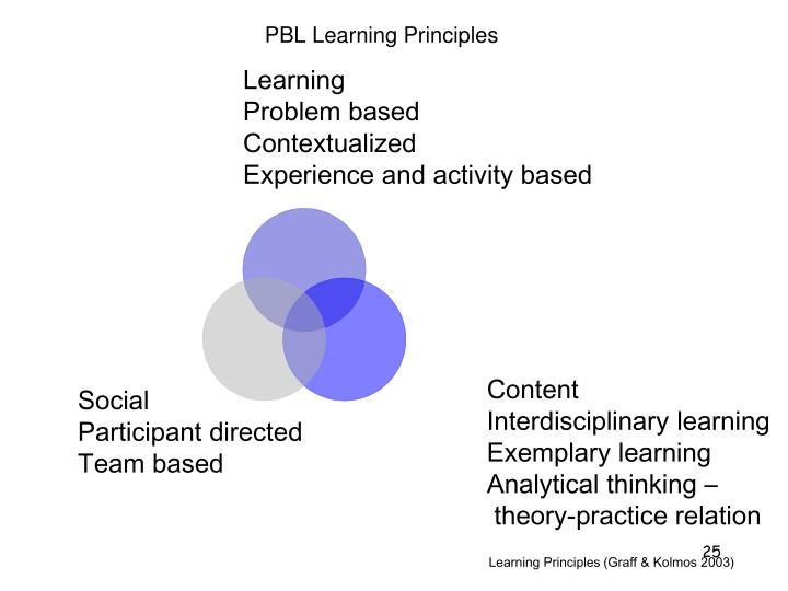 PBL Learning Principles
