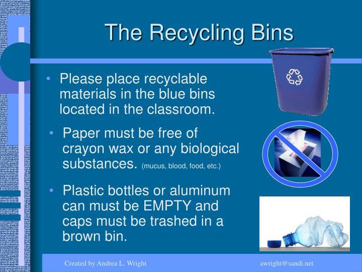 The Recycling Bins