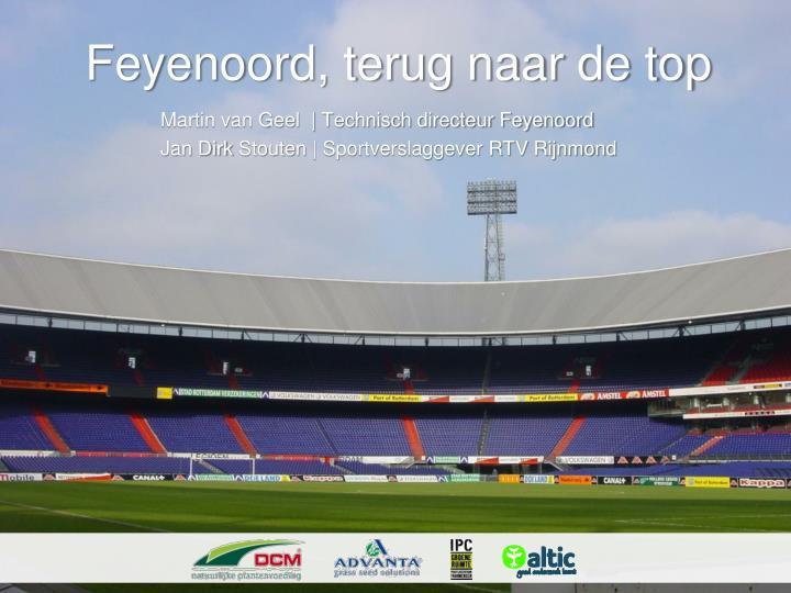Feyenoord, terug naar de top