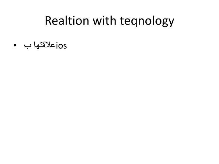 Realtion