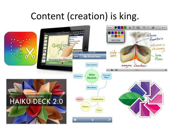 Content (creation) is king.