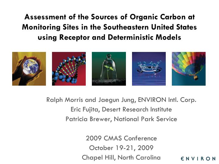 Assessment of the Sources of Organic Carbon at Monitoring Sites in the Southeastern United States us...