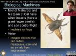 biological machines
