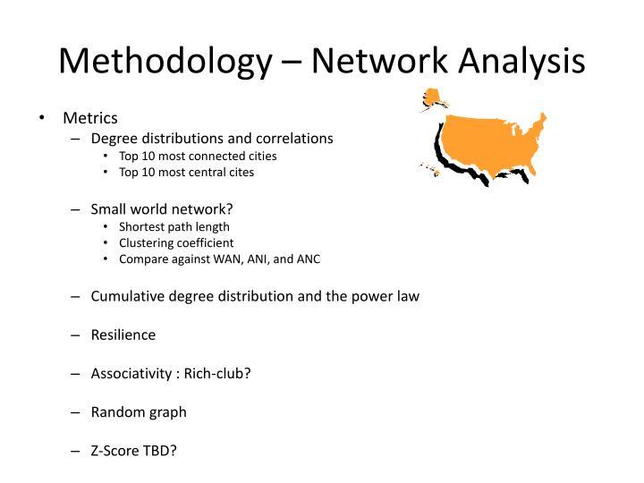 Methodology –
