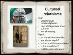 cultureel relativisme1