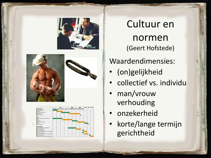 Cultuur en normen