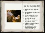 de tien geboden