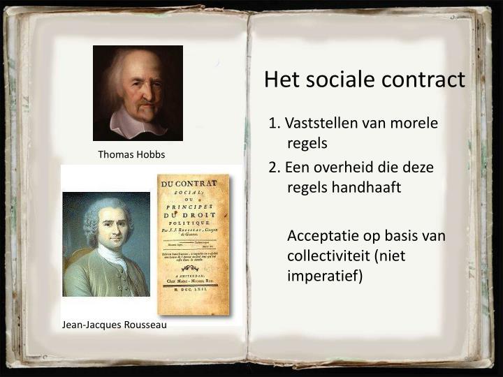 Het sociale contract