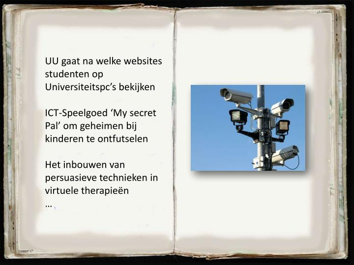 UU gaat na welke websites studenten op Universiteitspc's bekijken