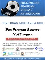 come down and have a kick