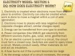 electricity model section 1 dq how does electricity work