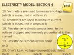 electricity model section 4