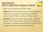 investigation part a modeling a parallel circuit