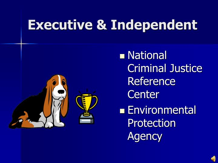Executive & Independent