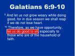 galatians 6 9 10