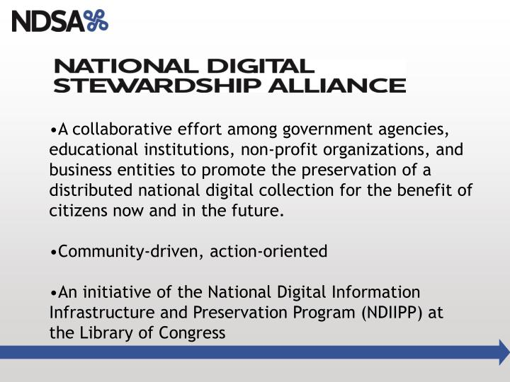A collaborative effort among government agencies, educational institutions, non-profit organizations, and business entities to