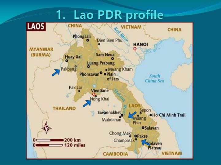 1 lao pdr profile
