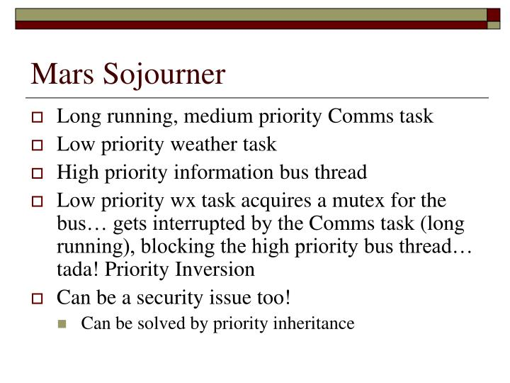 Mars Sojourner