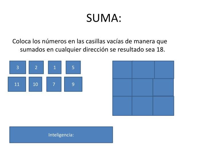 SUMA: