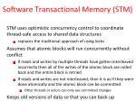 software transactional memory stm2