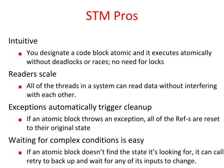 STM Pros