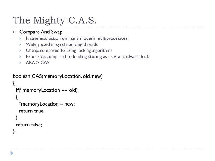 The Mighty C.A.S.