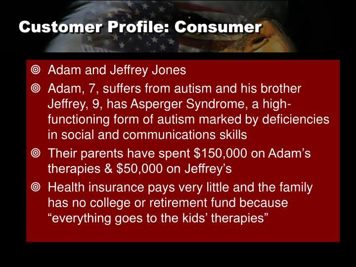 Customer Profile: Consumer