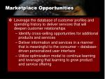 marketplace opportunities1